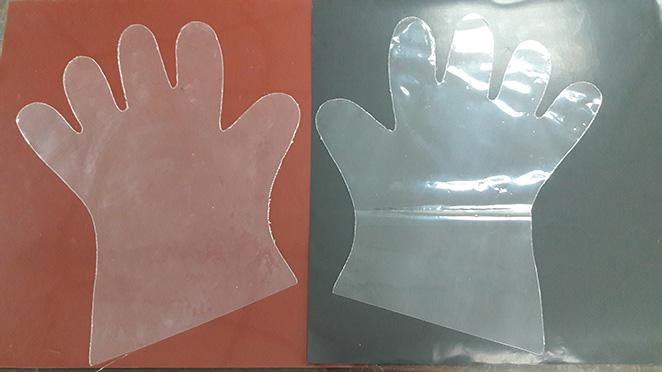Teflon glove