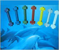 Teflon Coated Color Screw